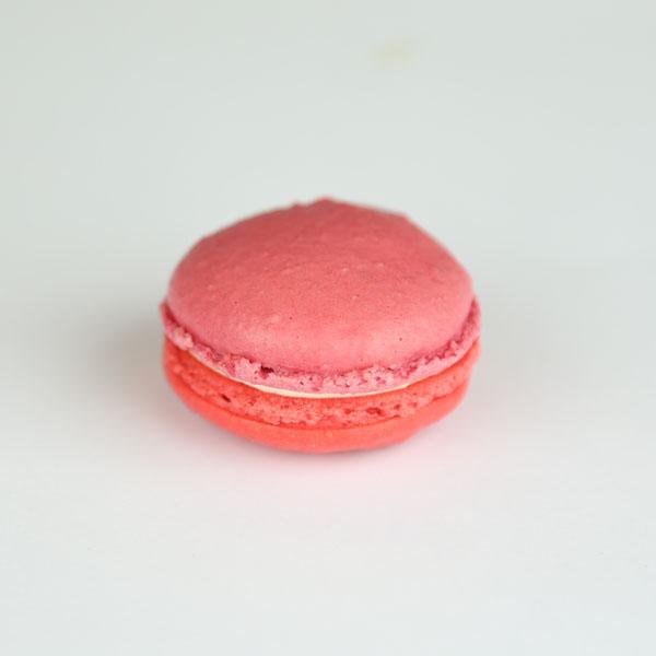 Rose and Raspberry Macarons