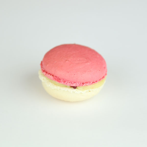 White Chocolate and Raspberry Macarons