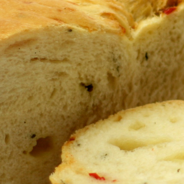 Chilli, Coriander and Cheese Bread Loaf