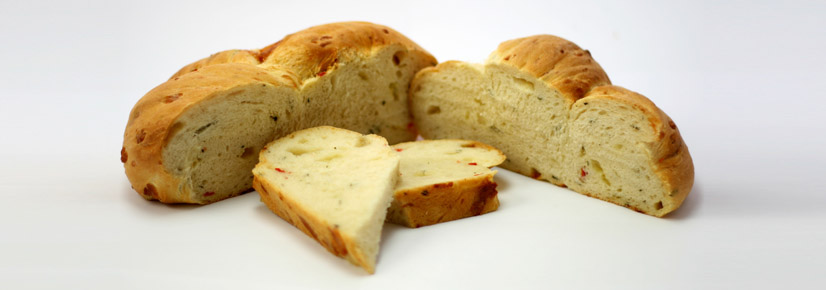 Long proven flavoured white breads