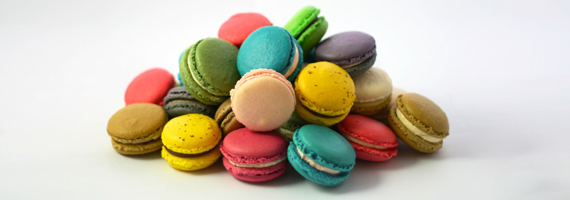 Delicious freshly made macaroons